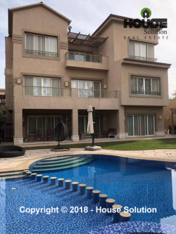 Villas For Sale In New Cairo Lake View #2583 -0