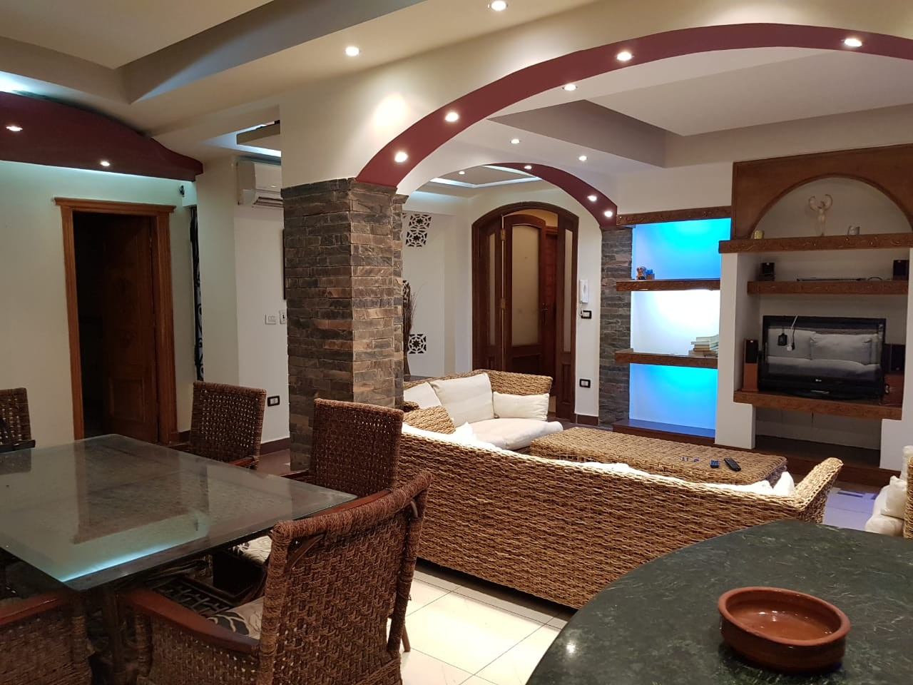 Dazzling Furnished Apartment For Rent In Located Old Maadi - 4906 Featured Image