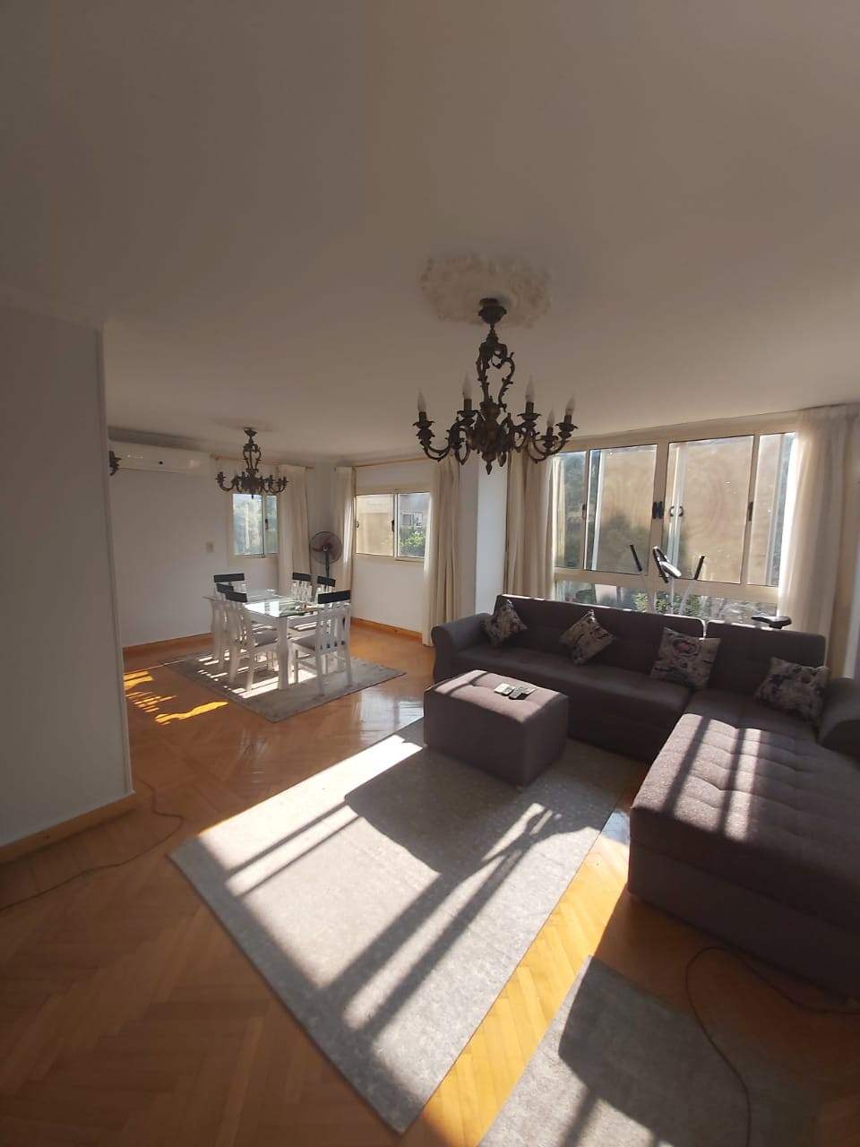 Furnished 2 Bedroom Apartment For Rent In Sarayat El Maadi - 4916 Featured Image