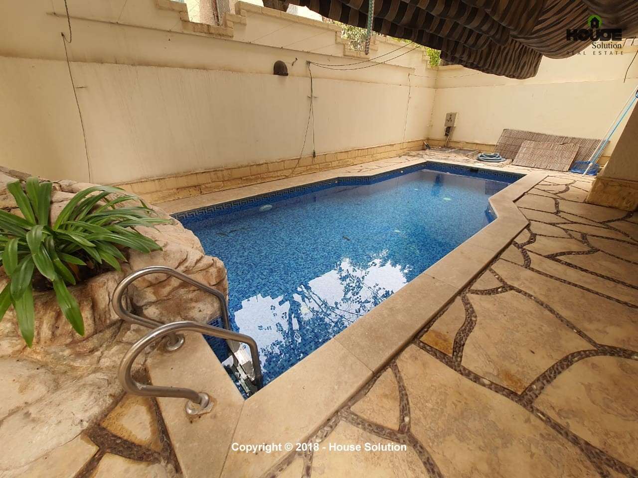 Luxurious Ground Floor With Swimming Pool For Rent In Sarayat El Maadi - 4885 Featured Image