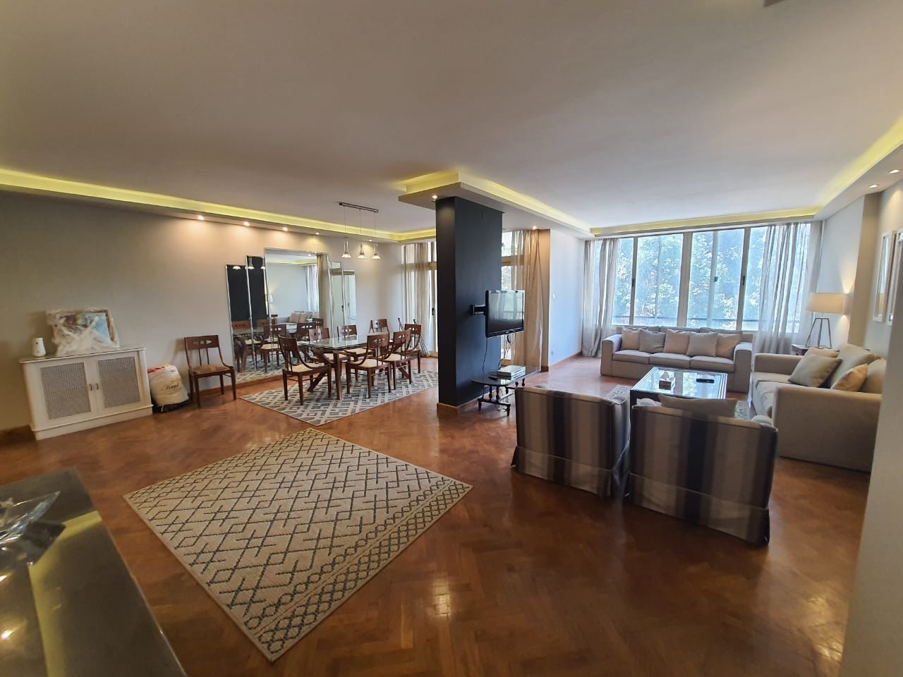 Modern Furnished Apartment For Rent In Sarayat El Maadi - 4900 Featured Image