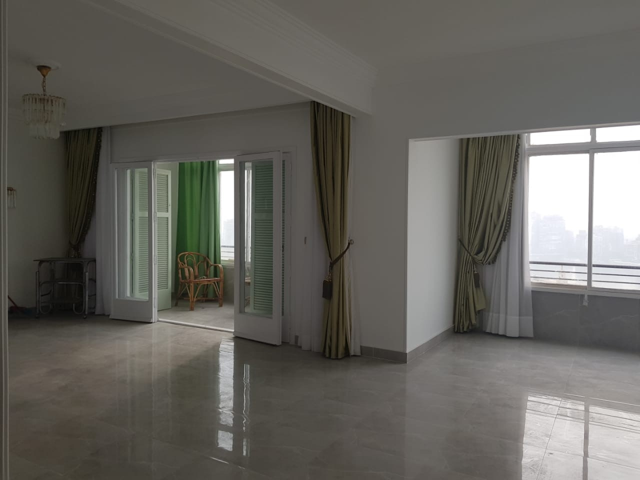 Tremendous Garden City Semi Furnished Apartment For Rent Located In Cornich El Maadi - 4890 Featured Image