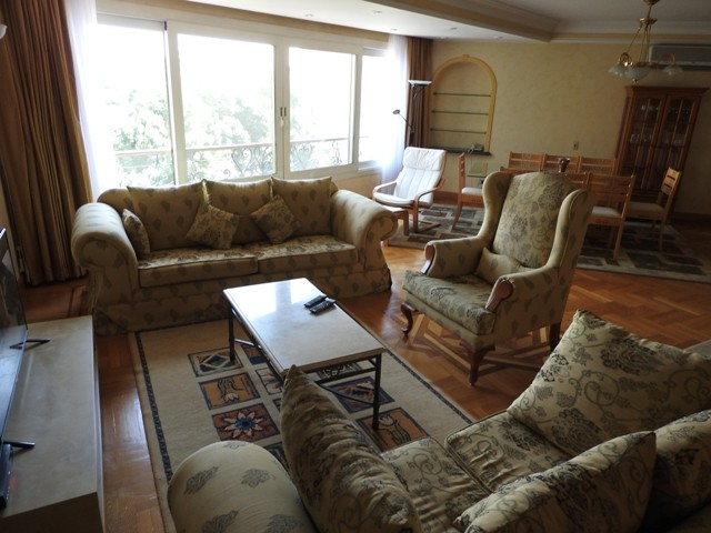 Vintage Furnished Apartment For Rent In Sarayat El Maadi - 4912 Featured Image