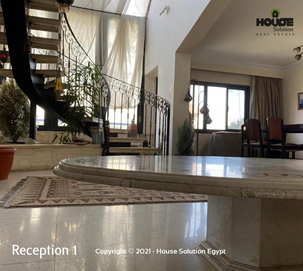Amazing Penthouse Duplex With Shared Pool For Rent Located In Sarayat El Maadi - 4951 Featured Image
