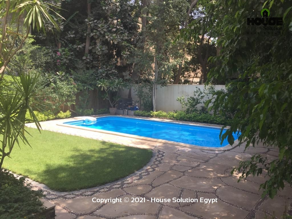 Amazing Villa With Private Pool For Rent In Maadi Degla Next To Cairo American College (C.a.c) - 4963 Featured Image