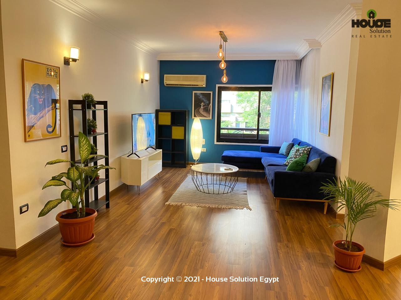 Brand New Modern Furnished Apartment For Rent In Degla El Maadi Next To Cairo American College (C.a.c.) - 5030 Featured Image