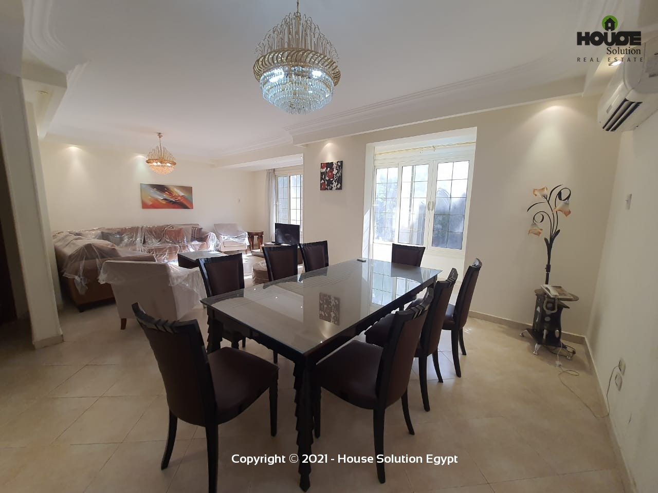 Bright Modern Furnished Apartment For Rent In Degla El Maadi Cairo Egypt - 4968 Featured Image