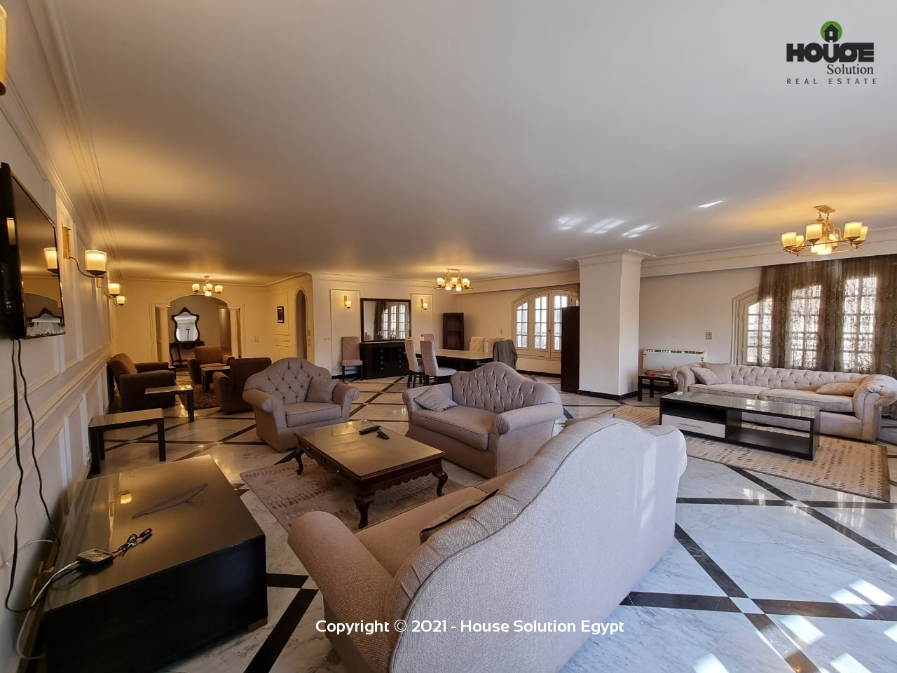 Bright Modern Furnished Apartment For Rent In Sarayat El Maadi Cairo Egypt - 5019 Featured Image