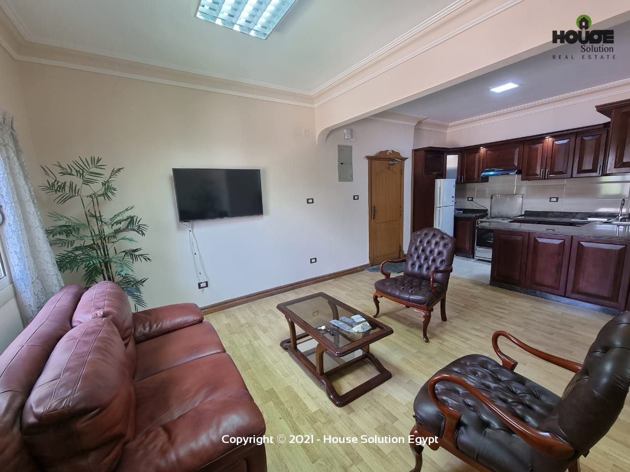 Comfy Modern Furnished Apartment For Rent In Sarayat El Maadi Egypt - 5027 Featured Image