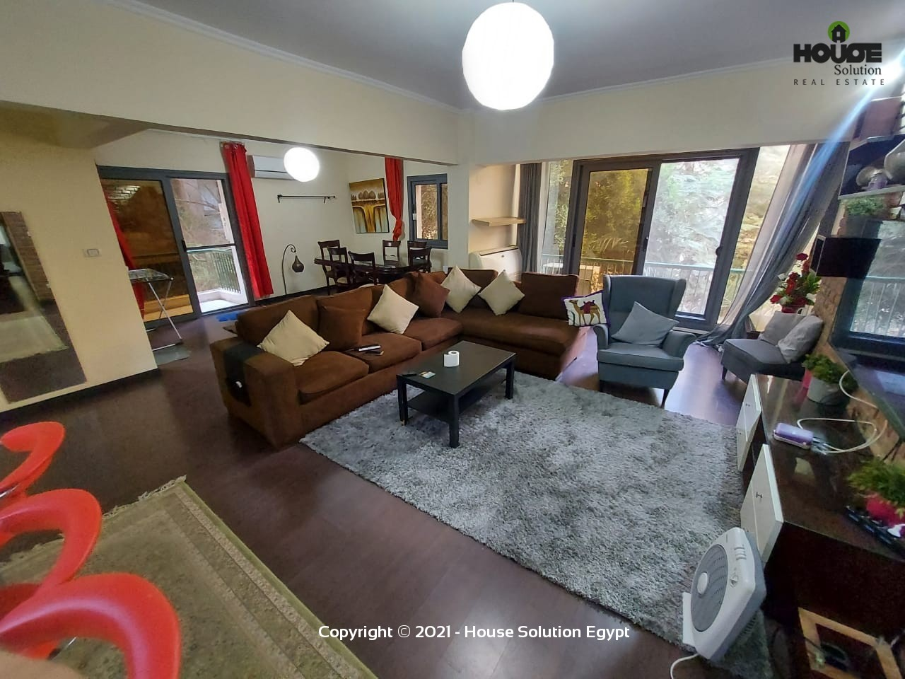 Delightful Modern Furnished Apartment For Rent In Degla El Maadi  - 5039 Featured Image