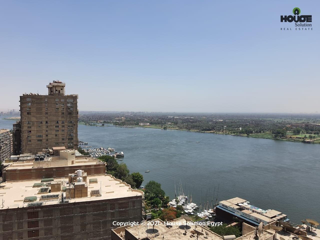 Furnished Apartment With Amazing View Of The Nile For Rent Located In Maadi Cairo Egypt - 5004 Featured Image