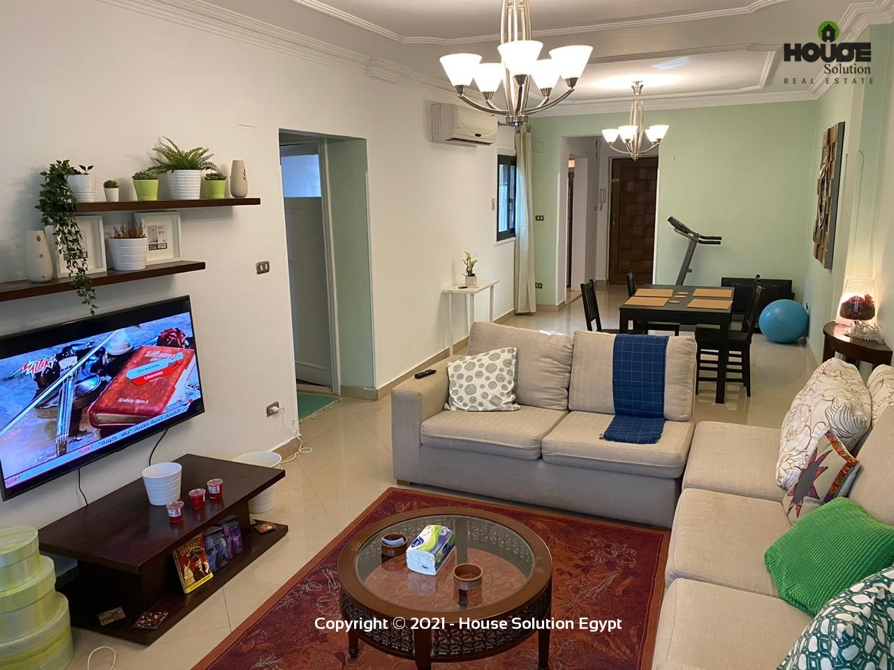Modern Brand New Apartment For Rent In Degla El Maadi Cairo Egypt - 4976 Featured Image