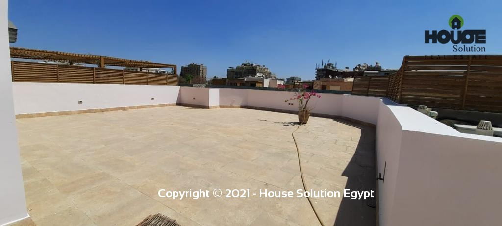 Modern Furnished Roof-Top Duplex For Rent With Shared Swimming Pool And Facilities Located In Sarayat El Maadi Cairo Egypt - 4959 Featured Image