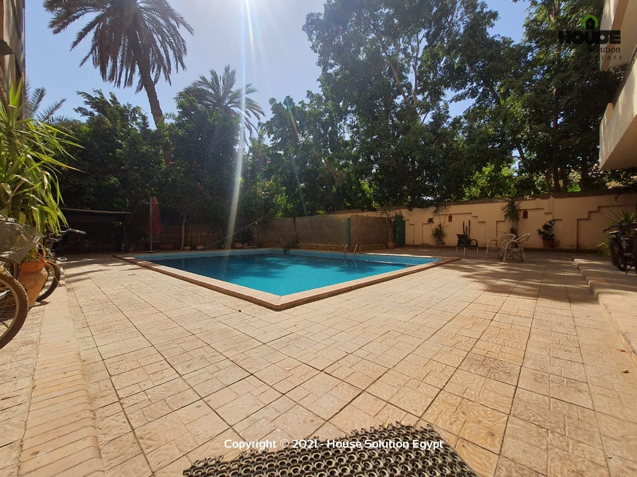 Outstanding Apartment For Rent With 2 Shared Swimming Pools In Sarayat El Maadi  - 4943 Featured Image