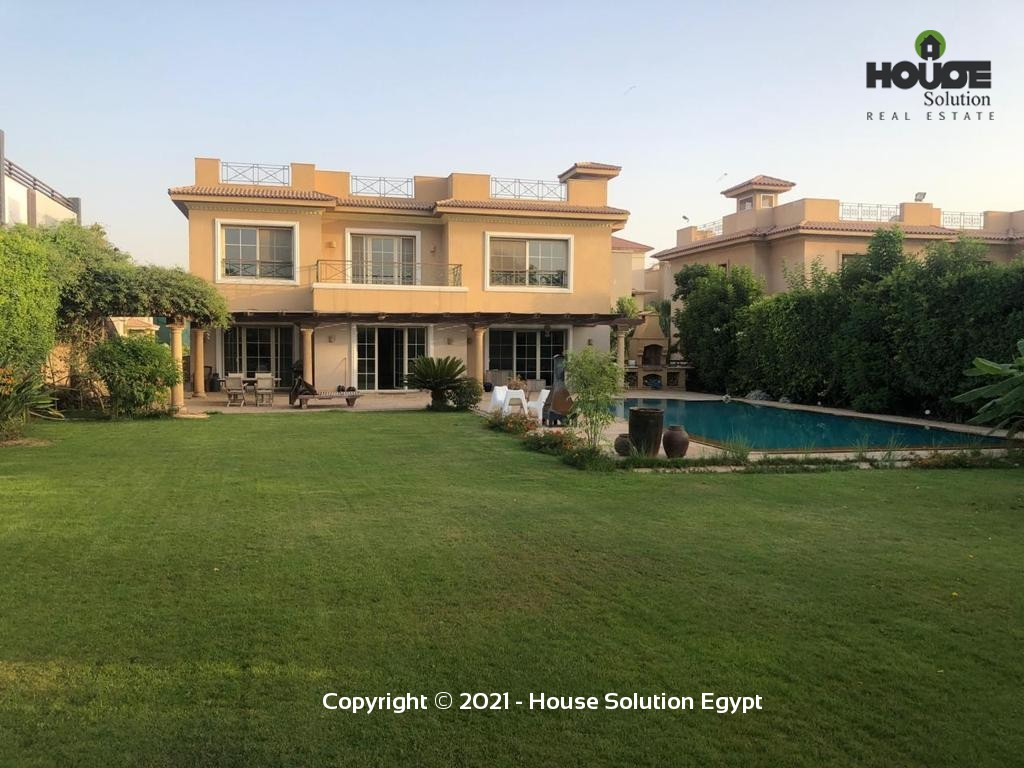 Outstanding Villa With A Private Pool For Rent In Katameya Heights - 5002 Featured Image