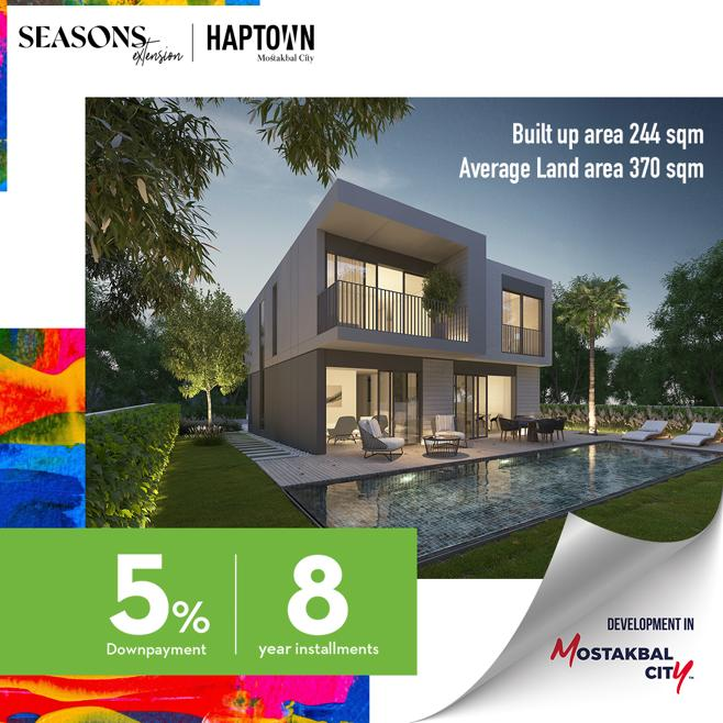 Season's Extension, Haptown By Hassan Allam Properties - 4987 Featured Image