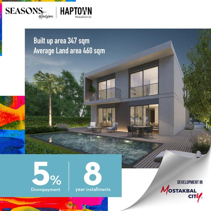 Season's Extension, Haptown By Hassan Allam Properties - 4989 Featured Image