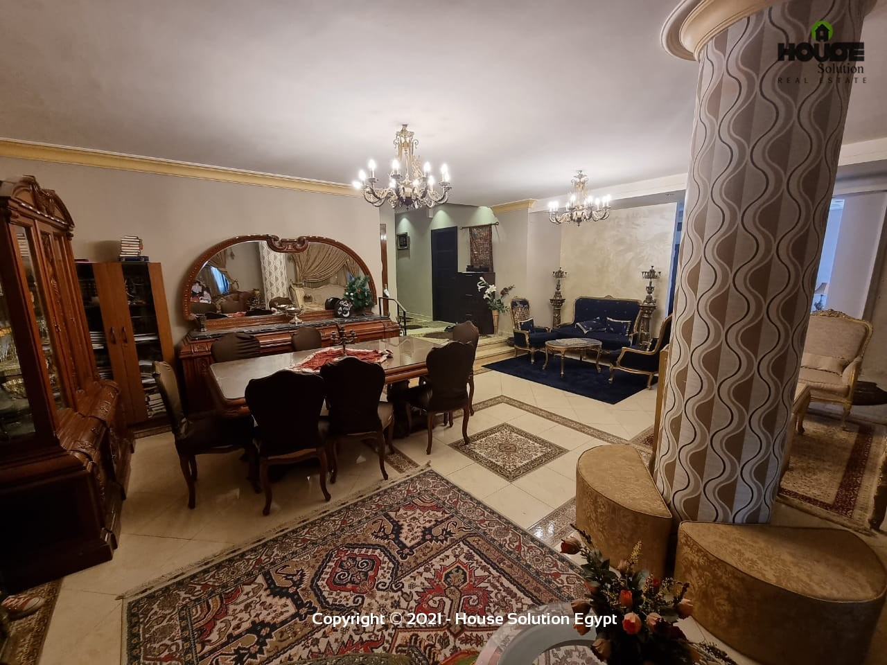 Spacious Fully Furnished Apartment For Rent In Degla El Maadi - 5014 Featured Image