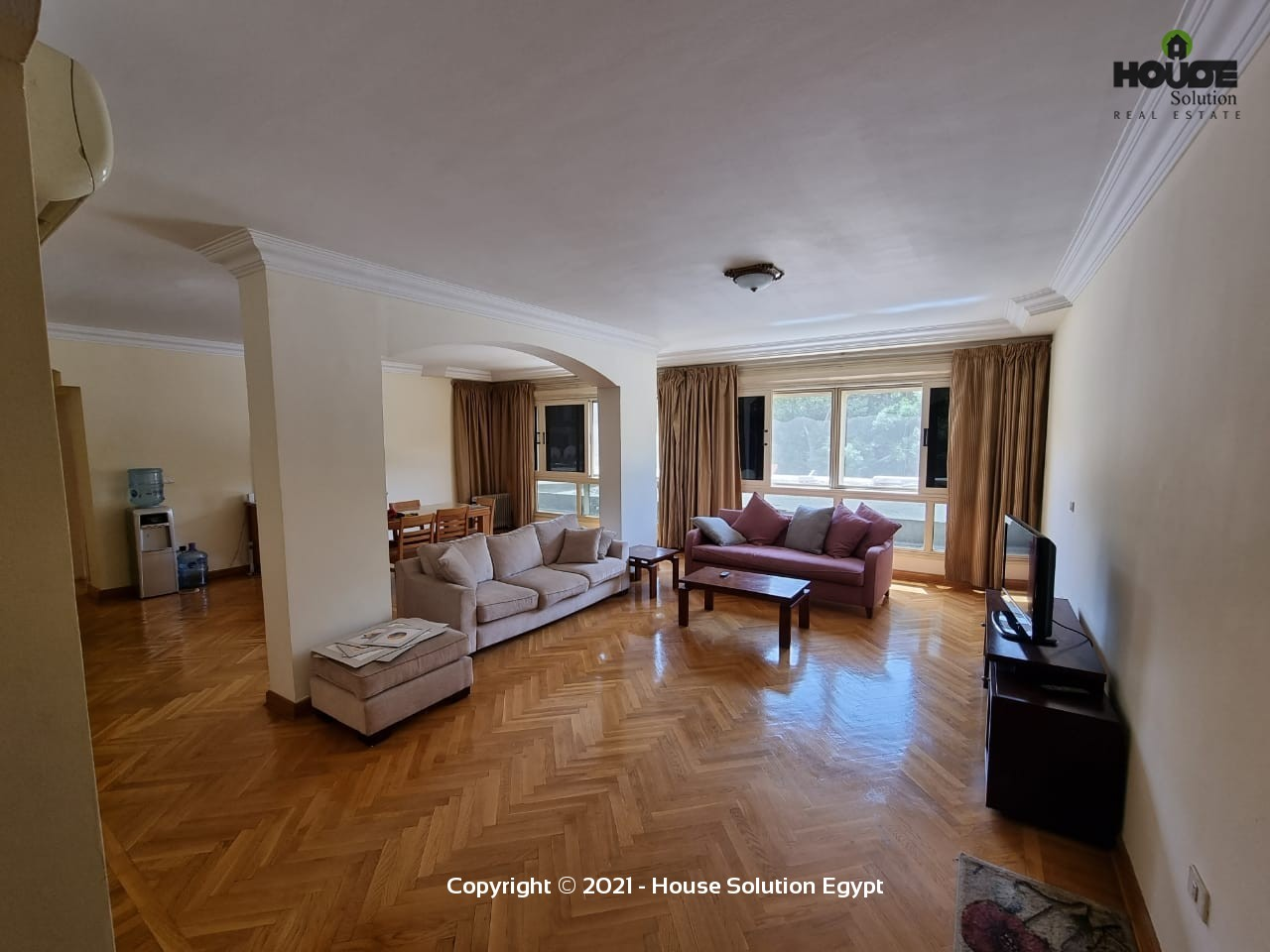 Spacious Fully Furnished Apartment For Rent In Degla El Maadi Near Cairo American College (C.a.c.) - 5001 Featured Image