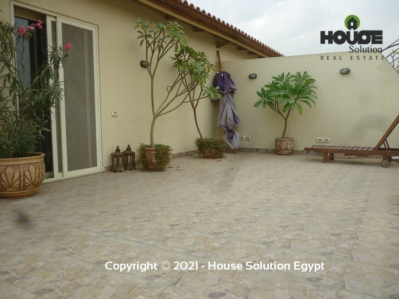 Spacious Penthouse Duplex With Pool For Rent In Sarayat El Maadi  - 4949 Featured Image