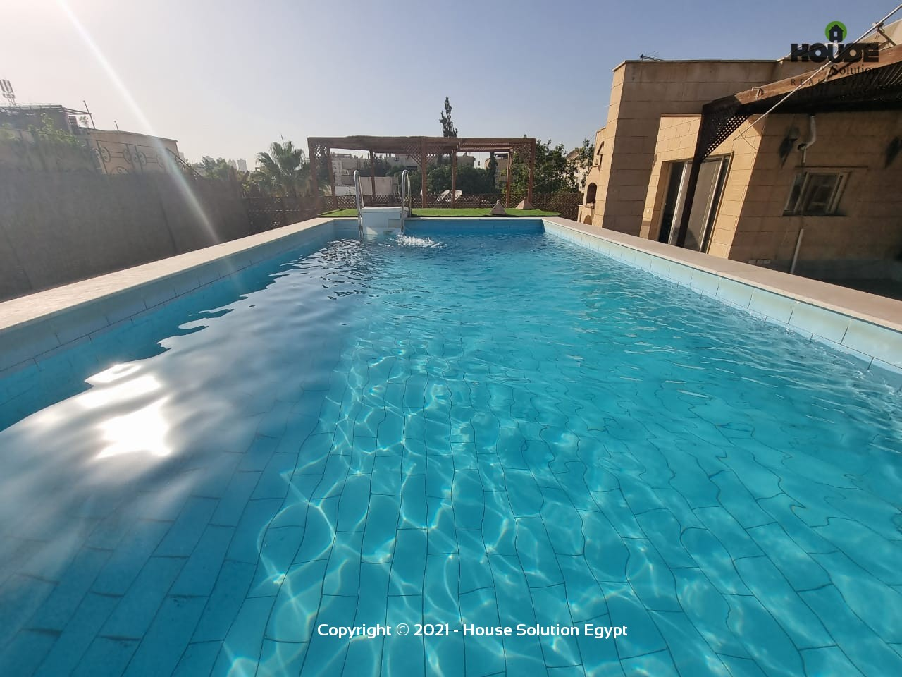 Spacious Penthouse Duplex With Swimming Pool For Rent In Sarayat El Maadi  - 5031 Featured Image