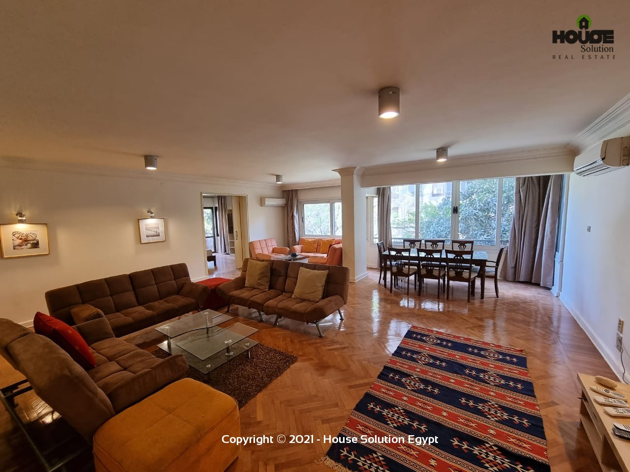 Stunning Furnished Apartment For Rent With Shared Pool Located In Sarayat El Maadi  - 4938 Featured Image