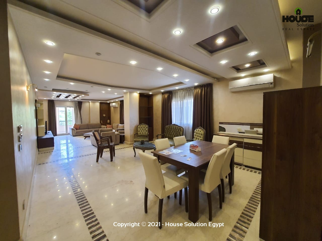 Stunning Modern Furnished Apartment For Rent In Sarayat El Maadi Cairo Egypt - 5007 Featured Image