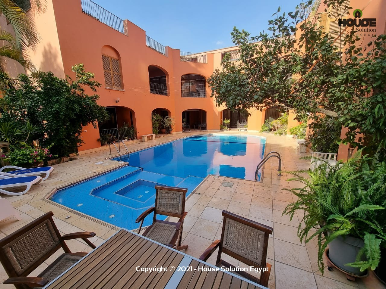 Stunning Villa For Rent With Shared Pool Located In Degla El Maadi Near Cairo American College (C.a.c) - 5018 Featured Image
