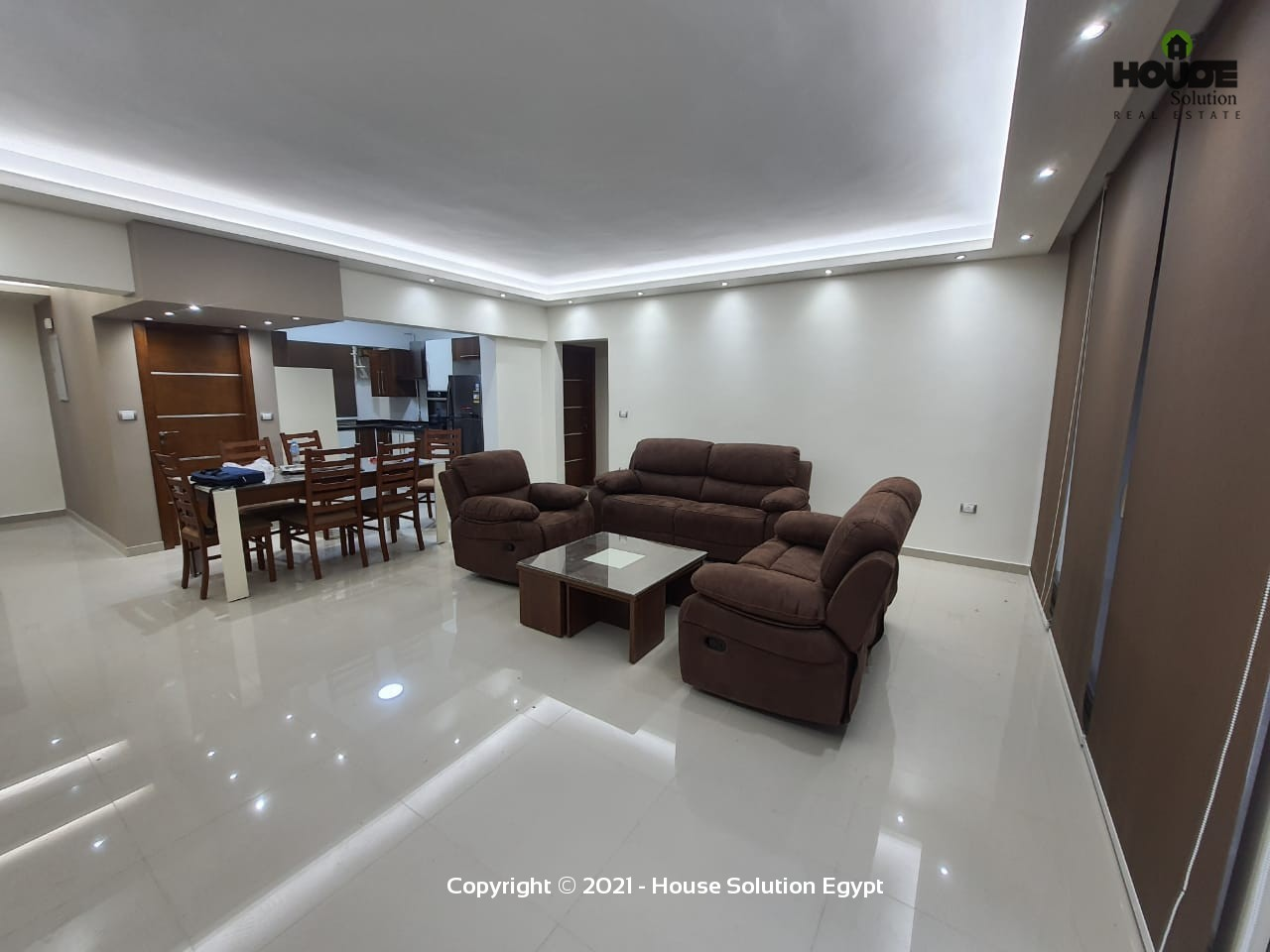 Superb Modern Furnished Apartment For Rent In Sarayat El Maadi  - 4975 Featured Image