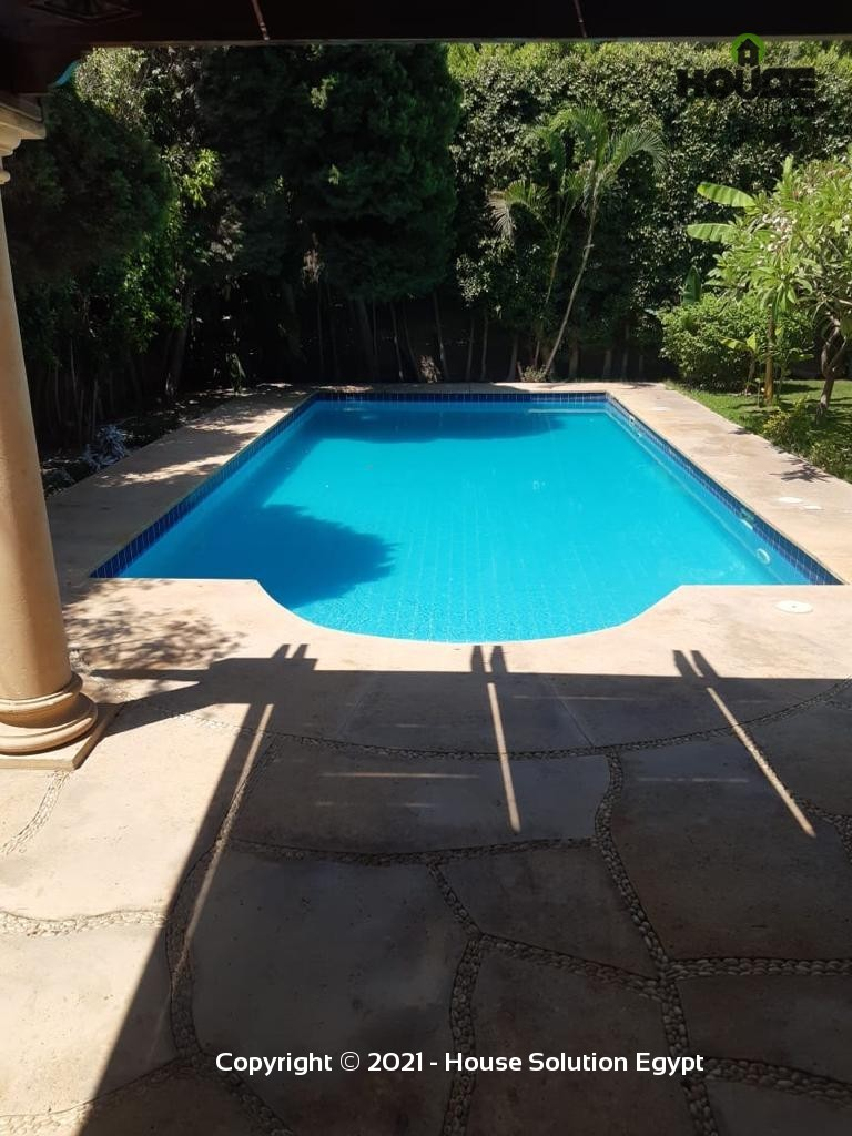 Tremendous Villa With Swimming Pool For Rent In Katameya Heights  - 5003 Featured Image