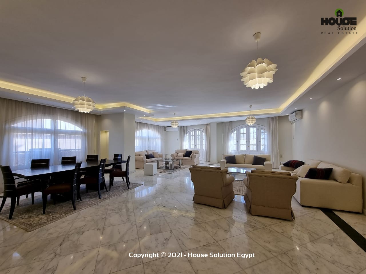 Ultra-Modern Furnished Apartment For Rent In Sarayat El Maadi - 5020 Featured Image