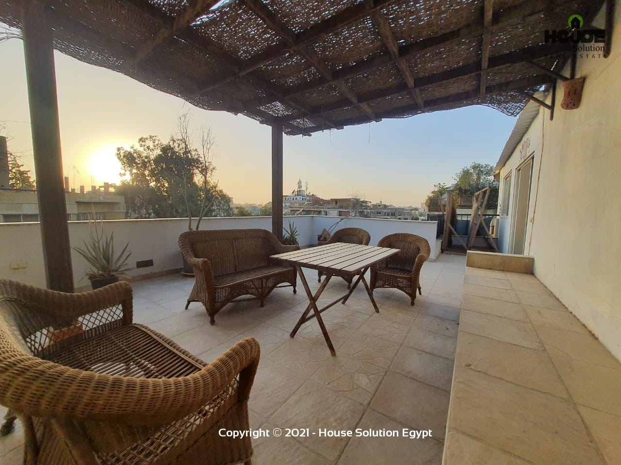 Wonderful Penthouse For Rent With Large Terrace Located In Degla El Maadi  - 4945 Featured Image