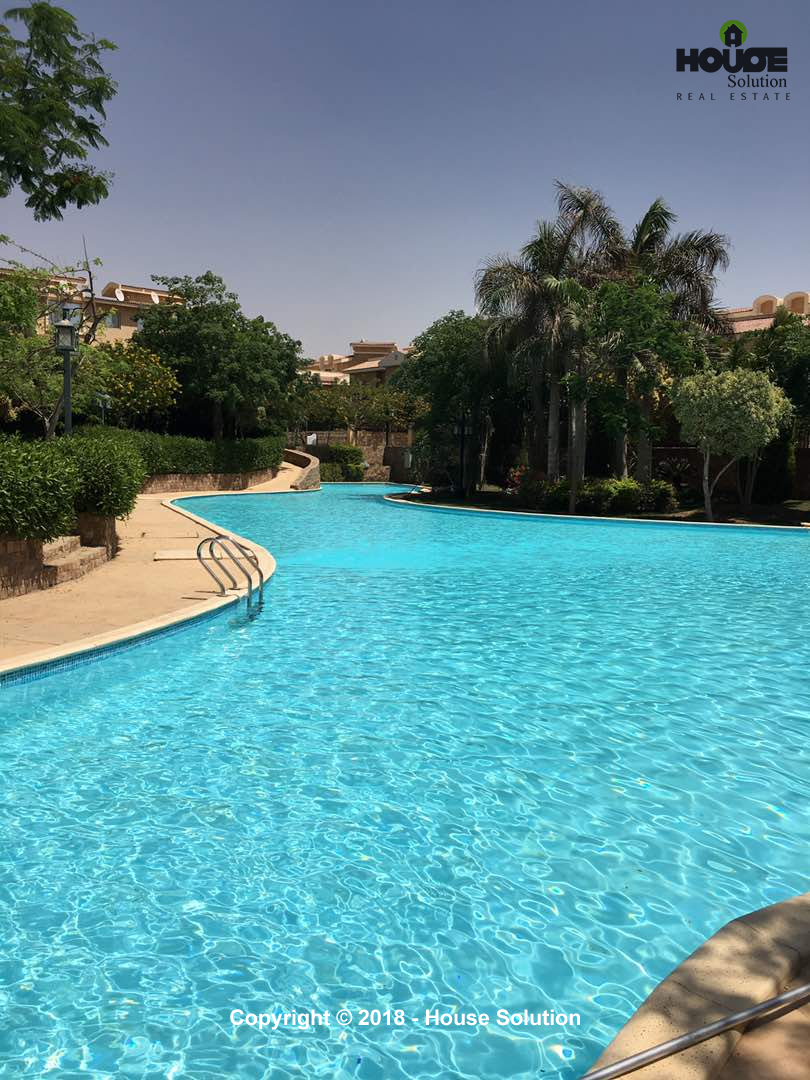 Villas For Rent In New Cairo River Walk -#4
