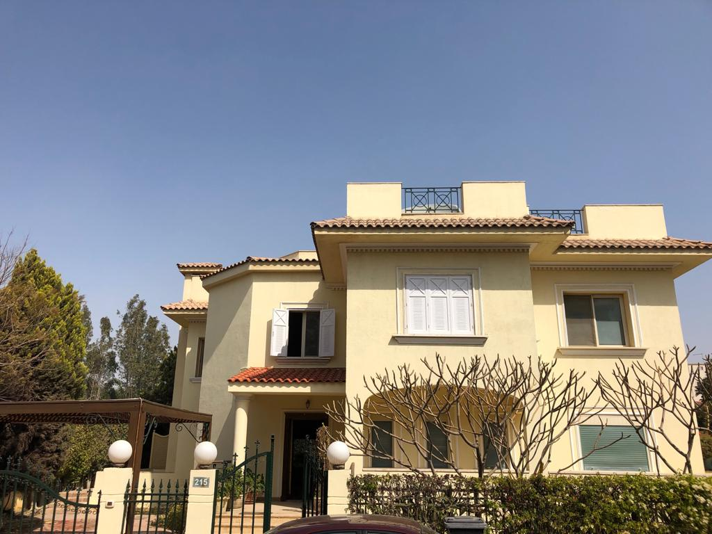 Villas For Rent In Katameya katameya Heights -#4